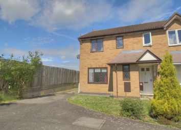 Thumbnail 3 bedroom semi-detached house for sale in Forstal Close, Corby
