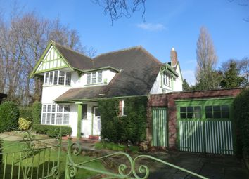 Thumbnail 5 bed detached house to rent in Moor Green Lane, Moseley