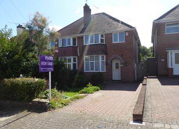 Thumbnail 3 bedroom semi-detached house for sale in Farlow Road, Northfield, Birmingham