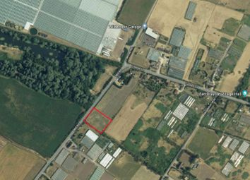 Thumbnail Land for sale in Cootes Lane, Fen Drayton, Cambridge