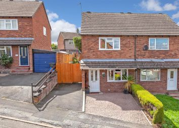 Thumbnail 2 bed semi-detached house for sale in Hucklemarsh Road, Ludlow