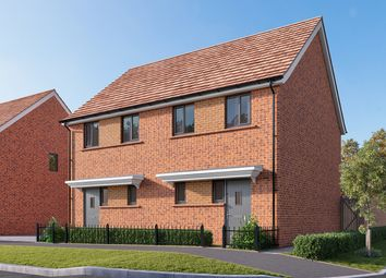 "Thumbnail 2 bedroom semi-detached house for sale in ""The Elder"" at Wycke Hill, Maldon"