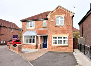 Thumbnail 4 bed detached house for sale in Cromwell Road, Hedon