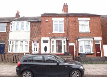Thumbnail 2 bedroom town house for sale in Marston Road, Northfields, Leicester