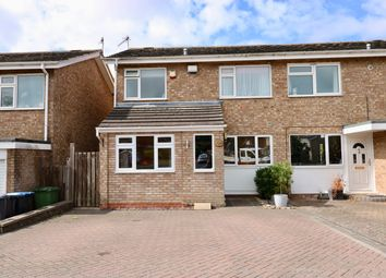 Thumbnail 3 bed semi-detached house for sale in Burbage Avenue, Stratford Upon Avon