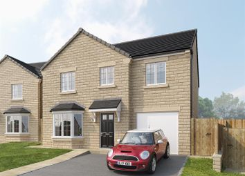 Thumbnail 4 bed detached house for sale in White House Farm, Holdsworth Road, Holmfield, Halifax