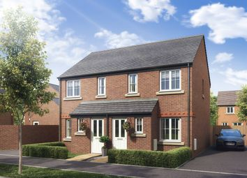 "Thumbnail 2 bed semi-detached house for sale in ""The Alnwick"" at Boughton Green Road, Northampton"