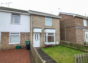 Thumbnail 2 bed end terrace house for sale in Debnam Close, Belton, Great Yarmouth