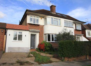 Thumbnail 4 bed semi-detached house for sale in The Ridgeway, North Harrow, Harrow