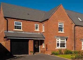"Thumbnail 4 bed detached house for sale in ""Exeter"" at Blandford Way, Market Drayton"