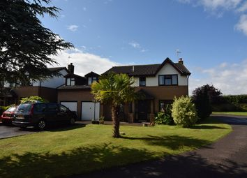 Thumbnail 6 bed detached house for sale in Vicarage Gardens, Marshfield, Cardiff, Newport