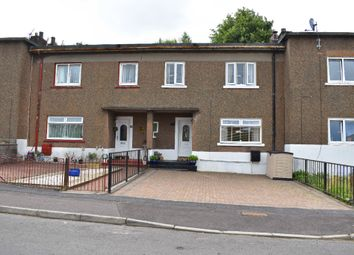 Thumbnail 3 bed terraced house for sale in Overburn Crescent, Dumbarton, West Dunbartonshire