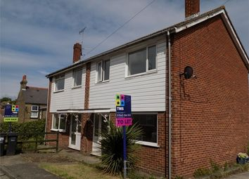 Thumbnail 3 bed semi-detached house to rent in Alma Road, Ramsgate