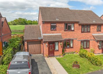 Thumbnail 3 bed semi-detached house for sale in Holcroft Way, Cross Houses, Shrewsbury
