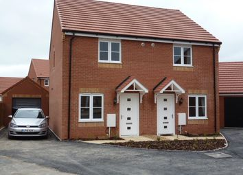 Thumbnail 2 bed semi-detached house to rent in Shipton Grove, Hempsted, Peterborough