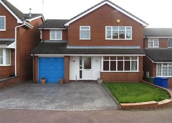 Thumbnail 4 bedroom detached house to rent in St. Lawrence Drive, Cannock