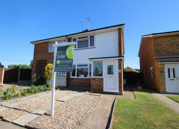Thumbnail 2 bed semi-detached house for sale in Muscade Close, Tiptree, Essex