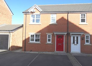 Thumbnail 3 bed semi-detached house to rent in Caspian Close, Thornaby, Stockton-On-Tees