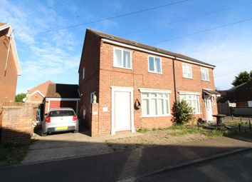 Thumbnail 3 bed semi-detached house for sale in Old Chapel Road, Freethorpe, Norwich
