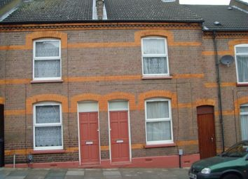 Thumbnail 2 bed terraced house to rent in Cambridge Street, Luton