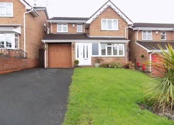 Thumbnail 4 bed detached house for sale in North View Drive, Brierley Hill