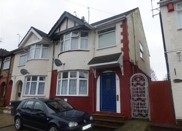 Thumbnail 3 bedroom semi-detached house for sale in Chester Avenue, Leagrave, Luton