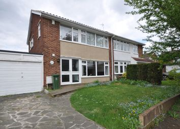 Thumbnail 3 bed semi-detached house to rent in Caernarvon Close, Hornchurch