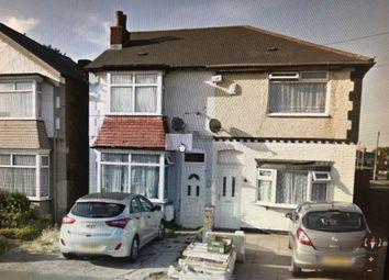 Thumbnail 1 bed semi-detached house to rent in Reservoir Rd, Erdington Birmingham