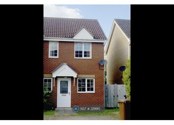 Thumbnail 2 bedroom semi-detached house to rent in Redwing Rise, Royston, Cambridgeshire