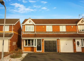 Thumbnail 3 bed semi-detached house for sale in Farnham Grove, Blyth