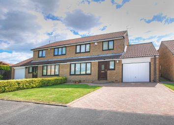 Thumbnail 3 bed semi-detached house for sale in Urswick Court, Newcastle Upon Tyne