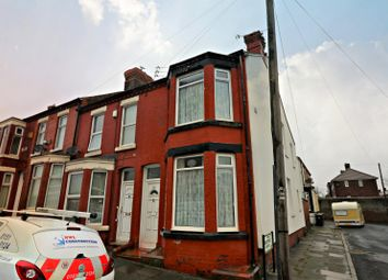 Thumbnail 2 bed end terrace house for sale in Tudor Avenue, Seacombe, Wirral CH446Pa