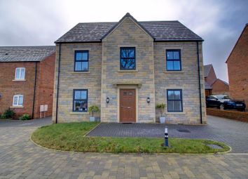 Thumbnail 4 bed detached house for sale in Wistanes Green, Wessington, Alfreton
