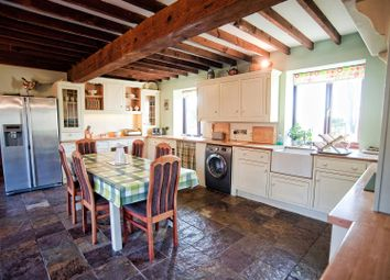 Thumbnail 4 bed barn conversion for sale in Low Road, Worlaby, Brigg