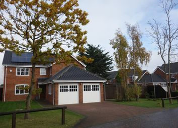 Thumbnail 4 bed detached house for sale in Harrier Drive, Lowestoft