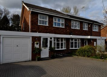 Thumbnail 3 bed semi-detached house for sale in Edgmond Close, Redditch