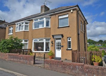 Thumbnail 3 bed semi-detached house for sale in Spacious West Side House, Queens Hill Crescent, Newport