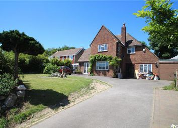 Thumbnail 4 bed detached house for sale in Old Shoreham Road, Lancing, West Sussex