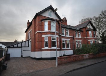 Thumbnail Room to rent in Vicarage Road, Hoole, Chester