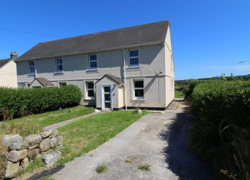 Thumbnail 3 bed semi-detached house for sale in Drym Road, Nancegollan, Helston