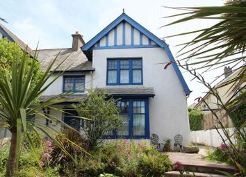Thumbnail 4 bed semi-detached house for sale in Porth Way, Newquay