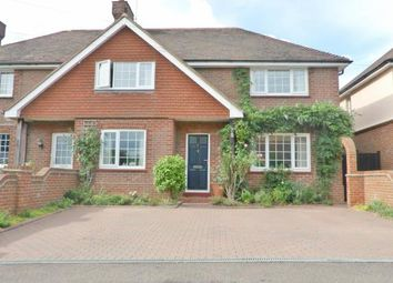 Thumbnail 4 bed semi-detached house for sale in Medway View, Three Elm Lane, Golden Green, Tonbridge