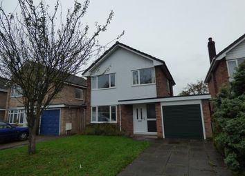 Thumbnail 3 bed detached house for sale in Eaton Road, Alsager, Cheshire