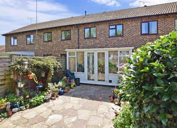 Thumbnail 3 bed terraced house for sale in Dinsdale Gardens, Rustington, West Sussex