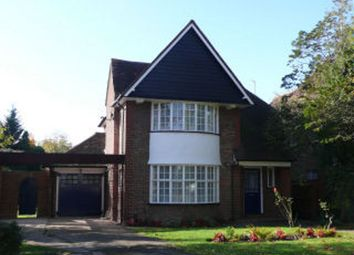 Thumbnail 4 bed detached house to rent in North Way, Pinner