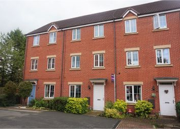 Thumbnail 4 bed town house for sale in The Limes, Uttoxeter