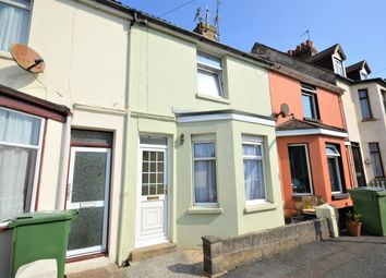 Thumbnail 2 bed terraced house for sale in Elm Road, Folkestone, Kent