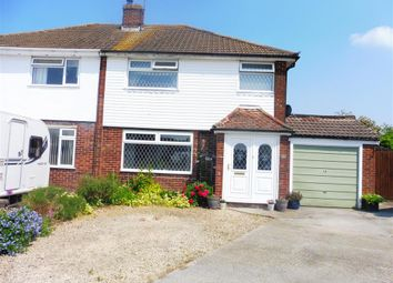 Thumbnail 3 bed semi-detached house for sale in Blake Crescent, Stratton St. Margaret, Swindon