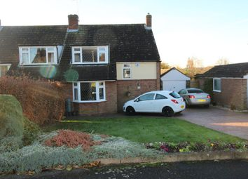 Thumbnail 3 bedroom semi-detached house for sale in Foxley Grove, Digswell, Welwyn Garden City