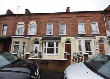 Thumbnail 3 bed terraced house to rent in Hatfield Street, Belfast